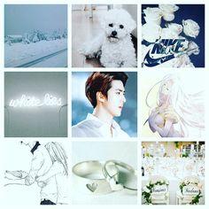 #exo #sehun #white #nike #plitemoodboard