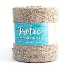 Frotee-pörrökude Recycling, Yarns, Mini, Tube, Cotton, Crafts, Colors, Manualidades, Calla Lily