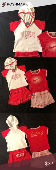 548eec491c9 Toddler Girls Nike outfits. Lot of 2. Size 2T EUC Toddler Girls Nike outfits
