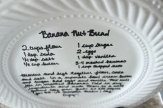 DIY Recipe Plate | The Wood Grain Cottage