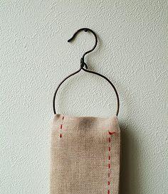 Perfect towel hanger