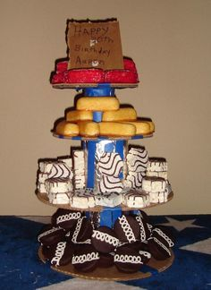 """White Trash Bash Cake Although it is not a """"cake"""" I still want to share!!!"""