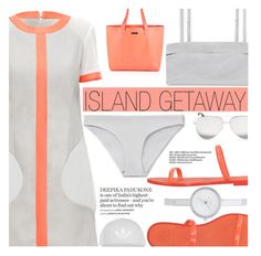 """Island Getaway"" by aislinnhamilton1993 ❤ liked on Polyvore featuring Lattori, Tory Burch, Superdry, Victoria Beckham, Topshop, DKNY, sporty, greyandorange and islandgetaway"