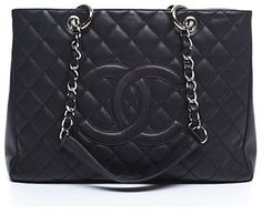 Chanel Pre-Owned Chanel Caviar Grand Shopping Tote GST Bag