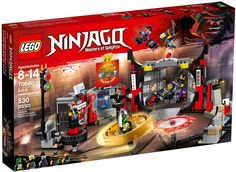 24161de3a1a5a 70640 S.O.G. Headquarters Lego Ninjago, Lego Lego, Shop Lego, All Toys,  Building