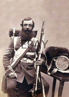 c1856 Sergeant Knapp Coldstream Guards Crimean War Photograph |