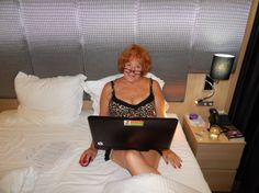 Working away in style on the Scenic Jewel cruiseship somewhere on the Danube River during my Nuremberg, Germany to Budapest, Hungary 8-night adventure.