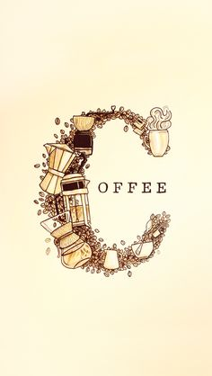 how can one not be inspired by coffee, lol  Coffee Doodle by Ryan Putnam