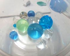Using Water Crystal Gel To Create Polymer Clay Base For Baking, For Making Hollow Bead  by Garie Sim