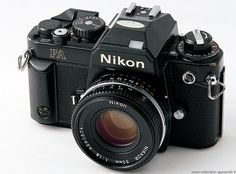 I was given one of these old Nikon FA SLR cameras recently and hope to learn how to use it one day Best Digital Camera, Digital Slr, Photography Camera, Photography Portfolio, Classic Camera, Camera Equipment, Evening Sandals, Shoot Film, Camera Nikon