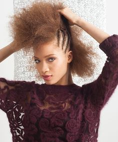 4 Fresh Holiday Hairdos For Natural Hair