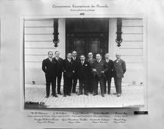 """Comisia Europeană a Dunării, 1933, Galati, Romania. Imagine din colecţiile Bibliotecii Judeţene """"V.A. Urechia"""" Galaţi."""