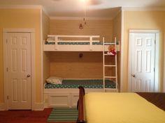 Guest bedroom w bunk beds