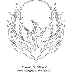 Coloring Book: Phoenix the firebird coloring pages Phoenix Design, Phoenix Art, Bird Tattoo Men, Phoenix Bird Tattoos, Bird Stencil, Stencil Patterns, Celtic Designs, Coloring Book Pages, Coloring Sheets
