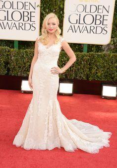 Francesca Eastwood at the 2013 Golden Globes