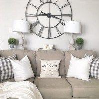 99 DIY Farmhouse Living Room Wall Decor And Design Ideas (60)