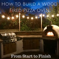 36 Ideas backyard bbq decorations diy pizza ovens for 2019 Oven Diy, Diy Pizza Oven, Brick Oven Pizza, Diy Grill, Pizza Oven Outdoor, Pizza Ovens, Bbq Diy, Diy Bbq Area, Wood Pizza