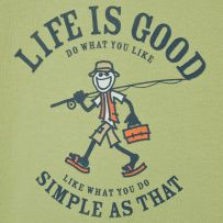 Life is good. Simple as that.