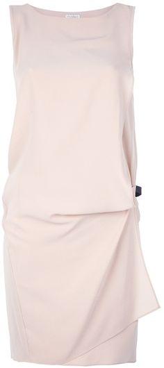 Brunello Cucinelli Dropwaist Asymmetrical Dress - Lyst