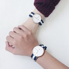 faa816277b7d Daniel Wellington his and hers watches at www.vonscharfenberg.com love  valentines day.