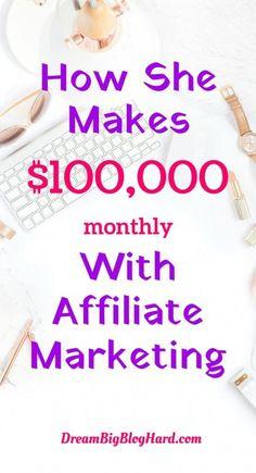 make money using affiliate marketing #EarnMoneyWithWealthyAffiliate Earn Money Online, Make Money Blogging, Way To Make Money, Online Jobs, Earning Money, Online Income, Online Earning, Marketing Program, Marketing Plan