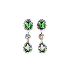 Miu Miu earrings, $410 miumiu.com