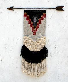 Red Geo Weaving