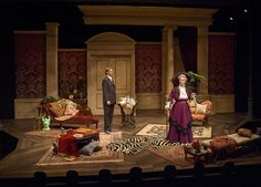 The Importance of Being Earnest. Cygnet Theatre. Sean Fanning Scenic Design.