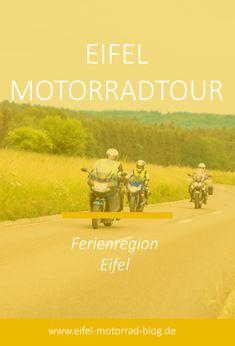 EIFEL MOTORRAD TOUR - Ferienregion Eifel /// Diese Eifel Motorradtour führt Euch durch die Ferienregion Eifel... Eifel, Das Hotel, Blog, Movies, Movie Posters, Tours, Germany, Vacation, Films