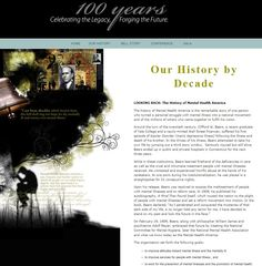 "The introduction to our ""History by Decade"" webpage: http://www.nmha.org/centennial/history.html"