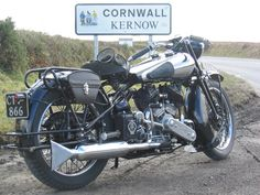 Brough Superior, a brute of a motorcycle from the 1920's and 30's. Lawrence of Arabia owned 8 of 'em.