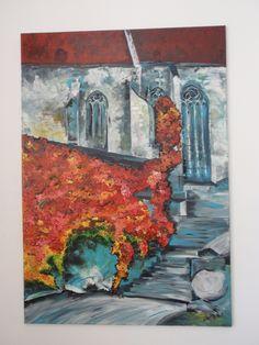 dóm Sväteho Martina, Bratislava, akryl Bratislava, Dom, Painting, Painting Art, Paintings, Painted Canvas, Drawings
