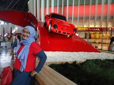 Ferrari World Abu Dhabi. Photo dan caption by kak finda  #OriflameDiamondConference2016