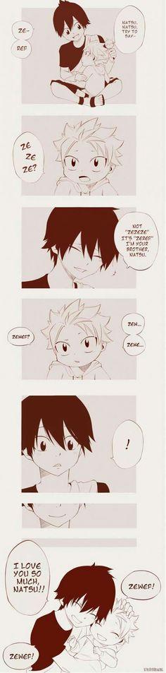 Zeref and Natsu