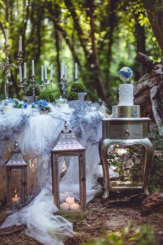Fairy garden desserttable project   www.marangona.hu Wedding clothes by Agota Nagy