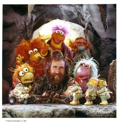 Jim Henson with puppets from Fraggle Rock. © The Jim Henson Company Jim Henson Puppets, Kermit And Miss Piggy, Sesame Street Muppets, Childhood Memories 90s, Clever Dog, I Love My Hubby, Fraggle Rock, The Muppet Show, Nostalgia
