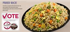 """Fried Brown Rice 