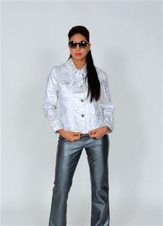This Berek jacket is definitely a call to the wild! A proper statement maker and attention grabber, you'll look and feel fierce and mighty in this metallic, leopard printed number. Perfect paired with a fresh white pant, or denim jean. Meet your girls for a Sunday brunch and sip on mimosas while you claim your territory!