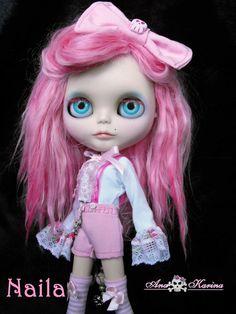 OOAK custom Blythe Naila by Ana Karina (Evolution Blythe) - by Ana Karina *Ninia Veneno* aka Evolution_Blythe