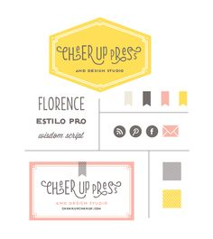 Cheer Up Press Branding Board