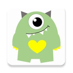 ANDROID: An app with the full screen rolling eye. Blink when it is touched. It is a fun app that works with a t-shirt.