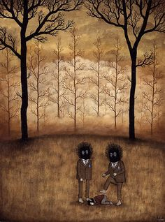 Andy Kehoe Acrylic painting. Sweet Station