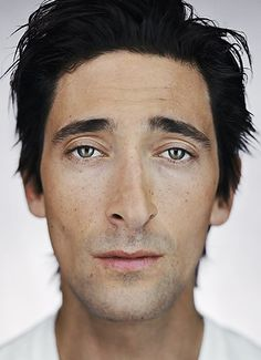 Adrien Brody by Martin Schoeller-  I don't know what but I have always found him really handsome.