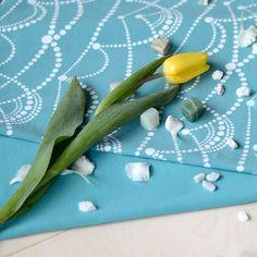JUHLA, Petrol  | NOSH Fabrics Spring & Summer 2016 Collection - Shop at en.nosh.fi | Kevään 2016 malliston kankaat saatavilla nyt nosh.fi