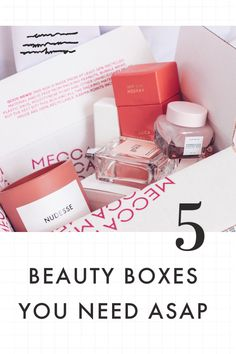 5 Absolute Best Beauty Boxes to Up Your Beauty Game! – I Spy Fabulous Best Beauty Boxes, Sweat Proof Makeup, Morning Beauty Routine, Beauty Games, Beauty Box Subscriptions, Skin So Soft, Skin Problems, Anti Aging Skin Care, Best Makeup Products