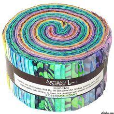 Wavelengths - Batik Fabric Roll - Quilt Fabrics from www.eQuilter.com