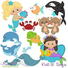 Providing svg cutting files for crafters who enjoy making scrapbooks and cards. Mermaid Cookies, Fall Owl, How To Make Scrapbook, Brother Scan And Cut, Paper Piecing Patterns, Nature Crafts, Digital Stamps, Clipart, The Little Mermaid