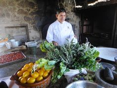 Chef Enrique Silva, co-owner and executive chef of Tequila for more than fifteen years works in his outdoor kitchen. While he has watched other businesses, especially restaurants, come and go---Silva has been a mainstay in the Baja culinary world. (Irene Levine/For the Tribune)