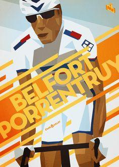 2012 Tour de France Stage 8 Belfort - Porrentruy (by Bruce Doscher)