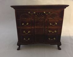 Sold for $107.00 i couldn't locate the maker's mark but the next photo wilk show it. Dollhouse Miniature Chest Of Drawers, Artisan Signed   Dolls & Bears, Dollhouse Miniatures, Artist Offerings   eBay!